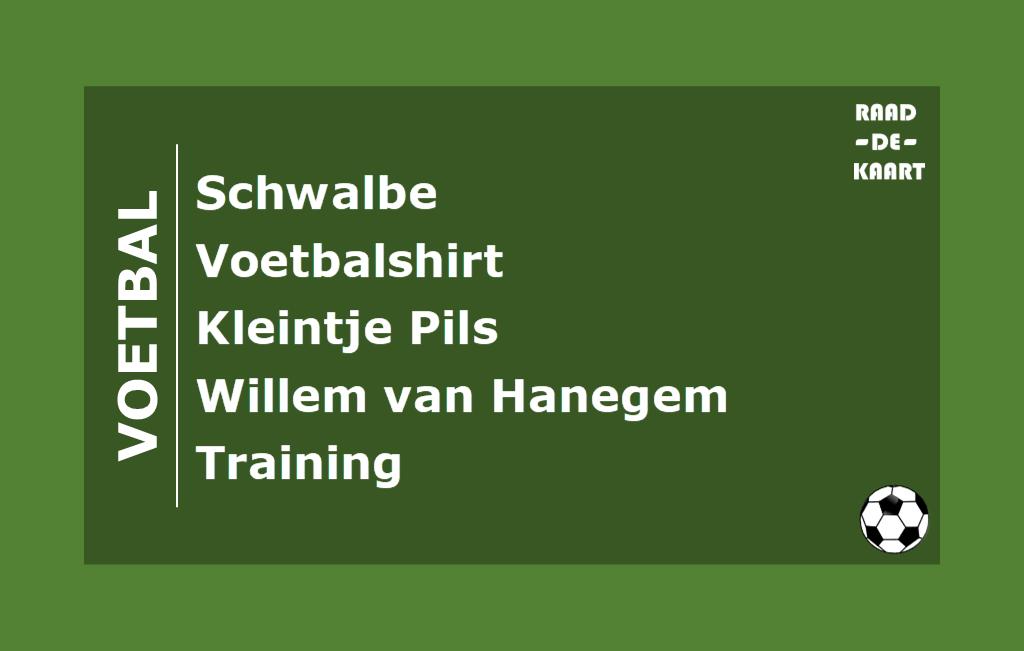 Raad de Voetbalkaart groen
